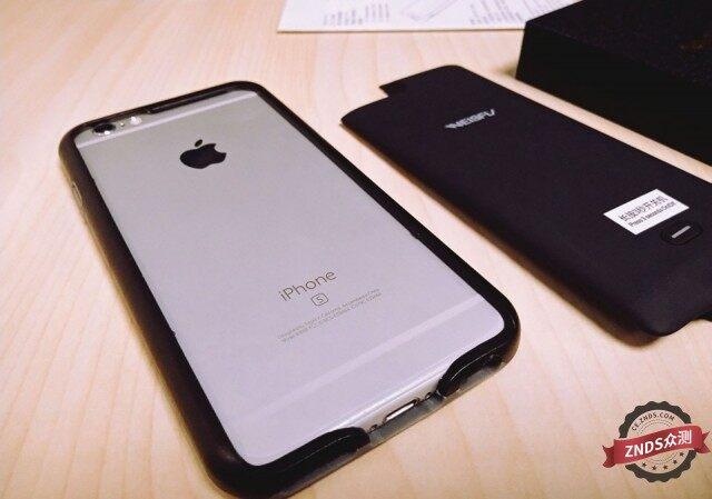 【ZNDS众测】一分为二,轻薄便携:iPhone分体背夹无线充电宝体验