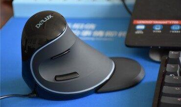 为健康而生——多彩科技DELUX人体工程学鼠标体验评测