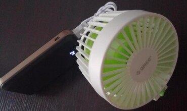 复古 科技 创新 看国人第一设计 双叶双电机USB小风扇