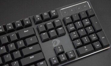 """无敌的手感,""""薄""""出新境界,达尔优EK820巧克力104键机械键盘"""