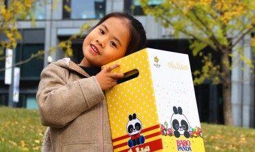 人工智能让宝宝梦想成真——微明星巴布熊猫动漫机器人