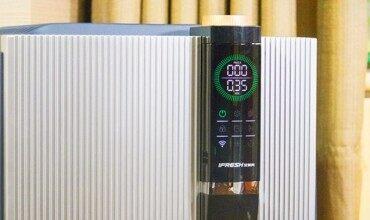 有颜值的实力派,艾芙芮领尚p1000空气净化器评测