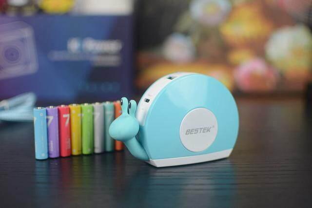 用来讨老婆开心的萌物 — 百事泰 小蜗牛 充电器 开箱体验