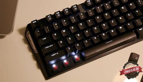 紧凑型87键镭拓MXX樱桃轴机械键盘