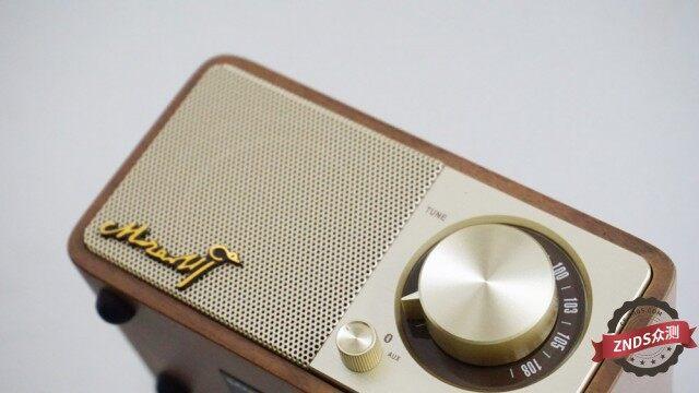 【ZNDS众测】重拾旧日电台收音时光--山进莫扎特无线音箱